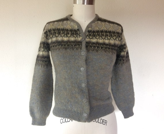1960s Jantzen wool cardigan sweater