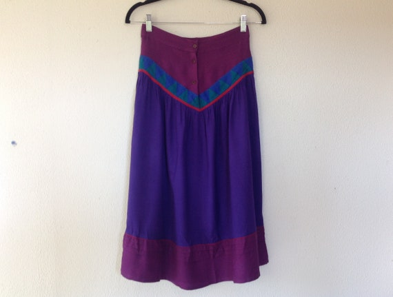 1970s Phool Indian skirt