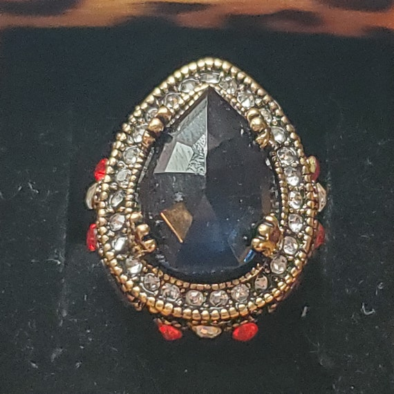 Vintage Gemstone Ring - image 1