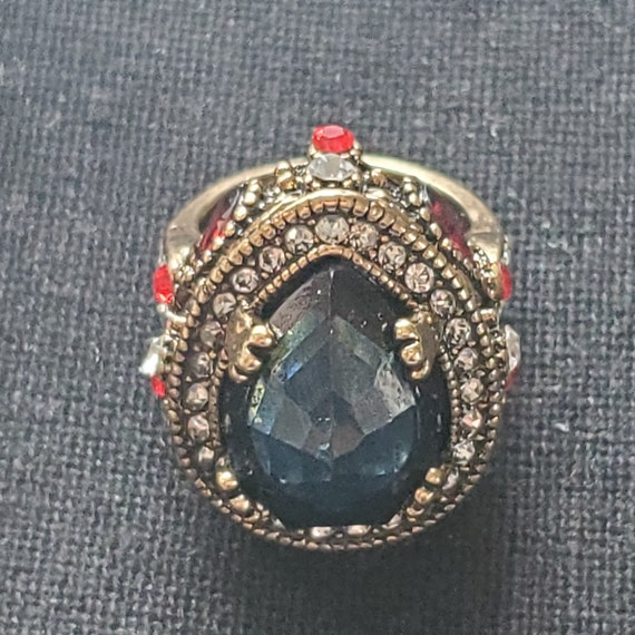 Vintage Gemstone Ring - image 4