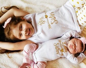 BIG SISTER shirt - promoted to big sister shirt - big sis shirt - little sister shirt - unique Big Sister Gift
