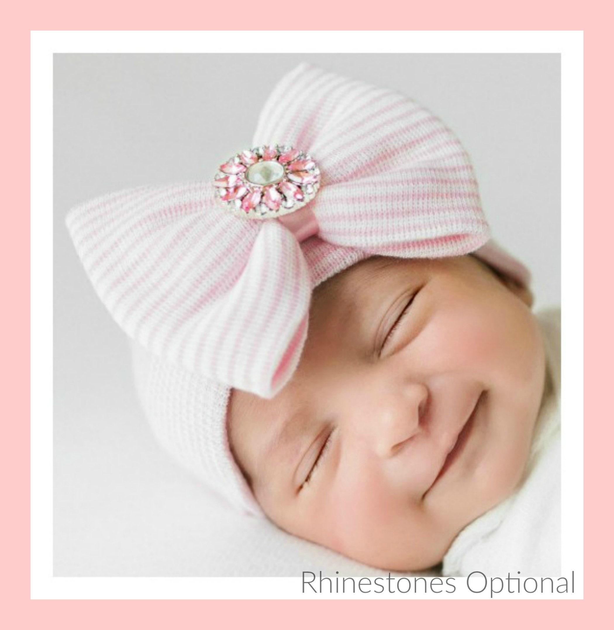 b2a530b6f Newborn GIRL HATS, baby girls newborn hat, baby girl hat, girl baby hat,  hat baby girl, newborn girl, newborn hat, girl baby newborn