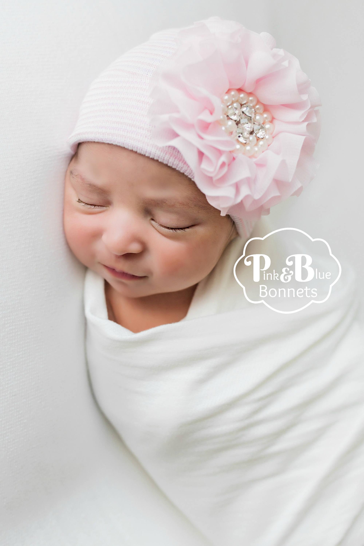 2de0b41ee Soft baby hat newborn girl hat baby girl hat baby girl hat