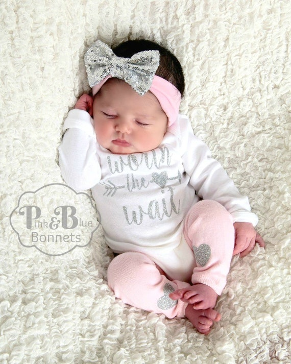 Take Home Outfit Girl Baby Take Home Outfit Girl Newborn Etsy
