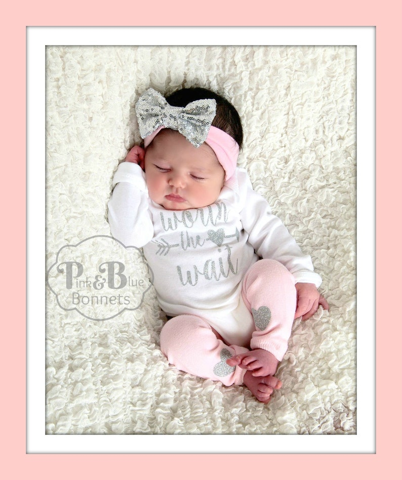 050d1b7e4c30e Baby girl Take Home Outfit for Baby Girl Newborn Outfit | Etsy