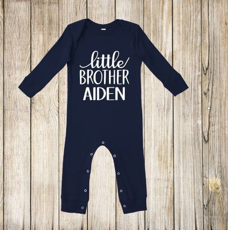 bec537bc3 LITTLE BROTHER outfit for newborn boy coming home baby boy | Etsy