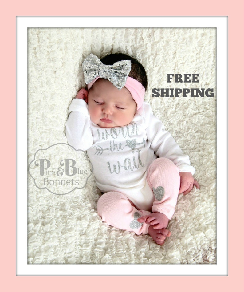 newborn HOSPITAL Outfit newborn girl coming home outfit baby image 0
