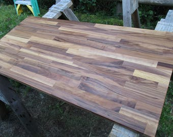 Butcher block island etsy for Butcher block manufacturers