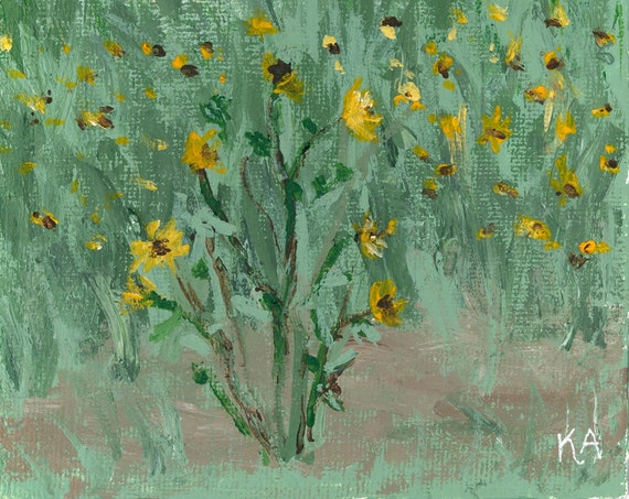 Wild Sunflowers and Copper Mines