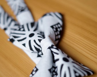 Mbizi African Print Bow Tie