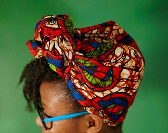 Rozi African Print Headwrap