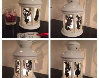 Alice in Wonderland Candle Lantern