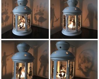 The Walking Dead Candle Lantern