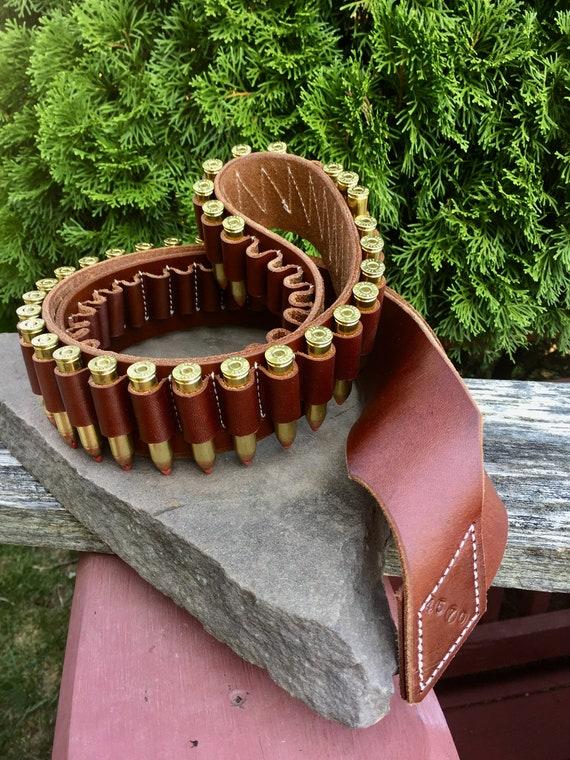 30-30 30-06 Rifle Gun 25 Shell Cartridges Bandolier Sling Belt for 308 cal