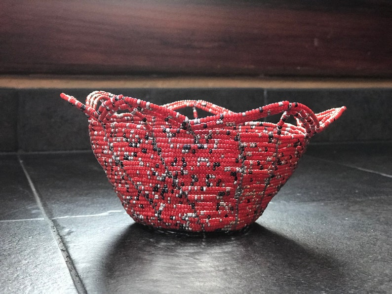 Beaded Basket image 0