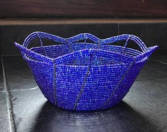 Beaded Basket