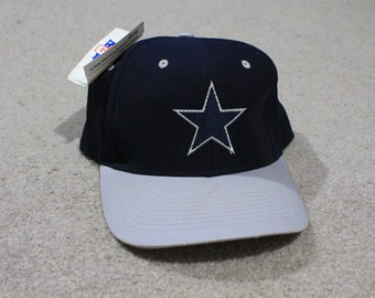NEW Vintage Dallas Cowboys NFL 1990 s Fiber Optic Light Up Snapback Hat logo da403be647c7