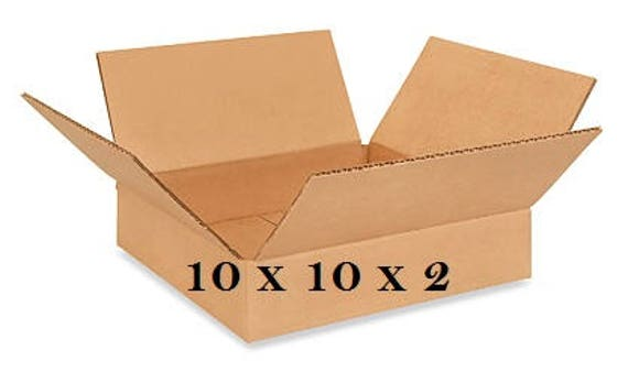 25   Cardboard Boxes 10x10x2   Long Corrugated Boxes Are Good For Storage,  Shipping, Moving, Packing   Wholesale Prices FREE SHIPPING From ...
