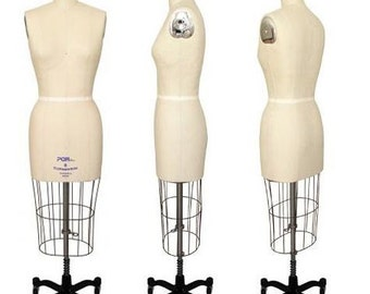 Professional Pinnable Ladies Dress Form - Dressmaker Mannequin for Sale - FREE SHIPPING!