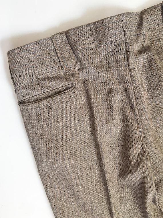 Mens Vintage Mend Suit by Prestige West // Grey T… - image 8