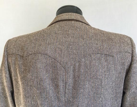 Mens Vintage Mend Suit by Prestige West // Grey T… - image 6