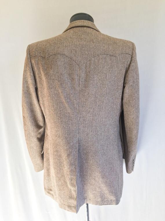 Mens Vintage Mend Suit by Prestige West // Grey T… - image 2