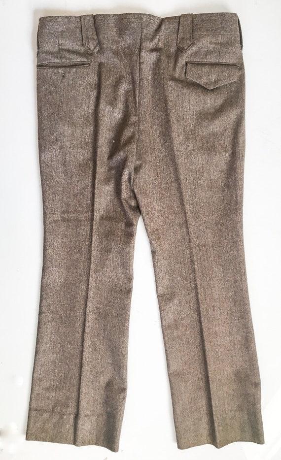 Mens Vintage Mend Suit by Prestige West // Grey T… - image 5