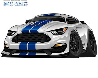 Muscle Car Decals Etsy