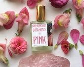 PINK SUGAR PERFUME / Pink Perfume / Flower Perfume / Wizard of Oz gifts / Glinda / natural gift / gifts for teenage girls / for daughters