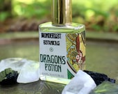 Dragons Potion perfume- Aromatherapy Natural Perfume. 15 ml glass roll on bottle. mysterious, uplifting, sensual natural blend, free shpiing