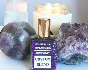 Custom Aromatherapy Perfume / custom perfume / essential oil blends / make your own perfume / aromatherapy oils /aromatherapy essential oils