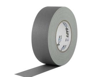 Multipurpose Tape; Stronger than Duct Tape Waterproof Purple Gaffer Tape; 1inx55yd Heavy Duty Pro Grade Gaffer/'s Non-Reflective