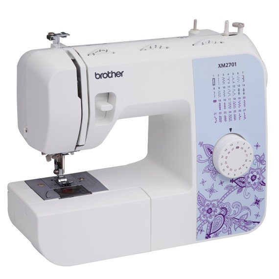 Brother XM40 Lightweight FullFeatured Sewing Machine With Etsy Simple Brother Xl2600i Sewing Machine Australia