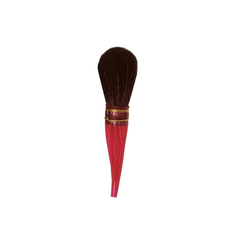 Size 15 For Dusting Skewings from Ornate Oil Gilded Surfaces. Da Vinci Series 750 Double Quill Gilder Oval Shaped Mop Black Goat Hair