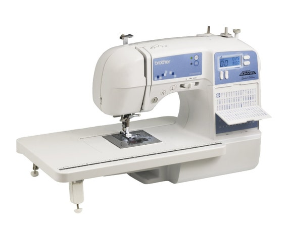 Brother XR40PRW Project Runway Limited Edition Sewing Etsy Extraordinary Brother Project Runway 100 Stitch Sewing Machine