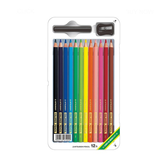 mitsubishi colored pencils japanese premium quality etsy