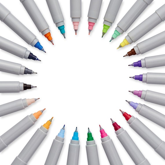 Color Sharpie Markers Precision Ultra-Fine-Point Permanent | Etsy