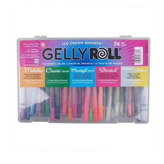 74 Pens Sakura Gelly Roll Artists Set Sakura Gelly Roll Art Etsy