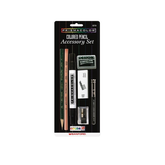 Sanford Prismacolor Colored Pencil Accessory Set 7 Piece Drawing Blending Shading Rendering Prismacolor Arts Crafts