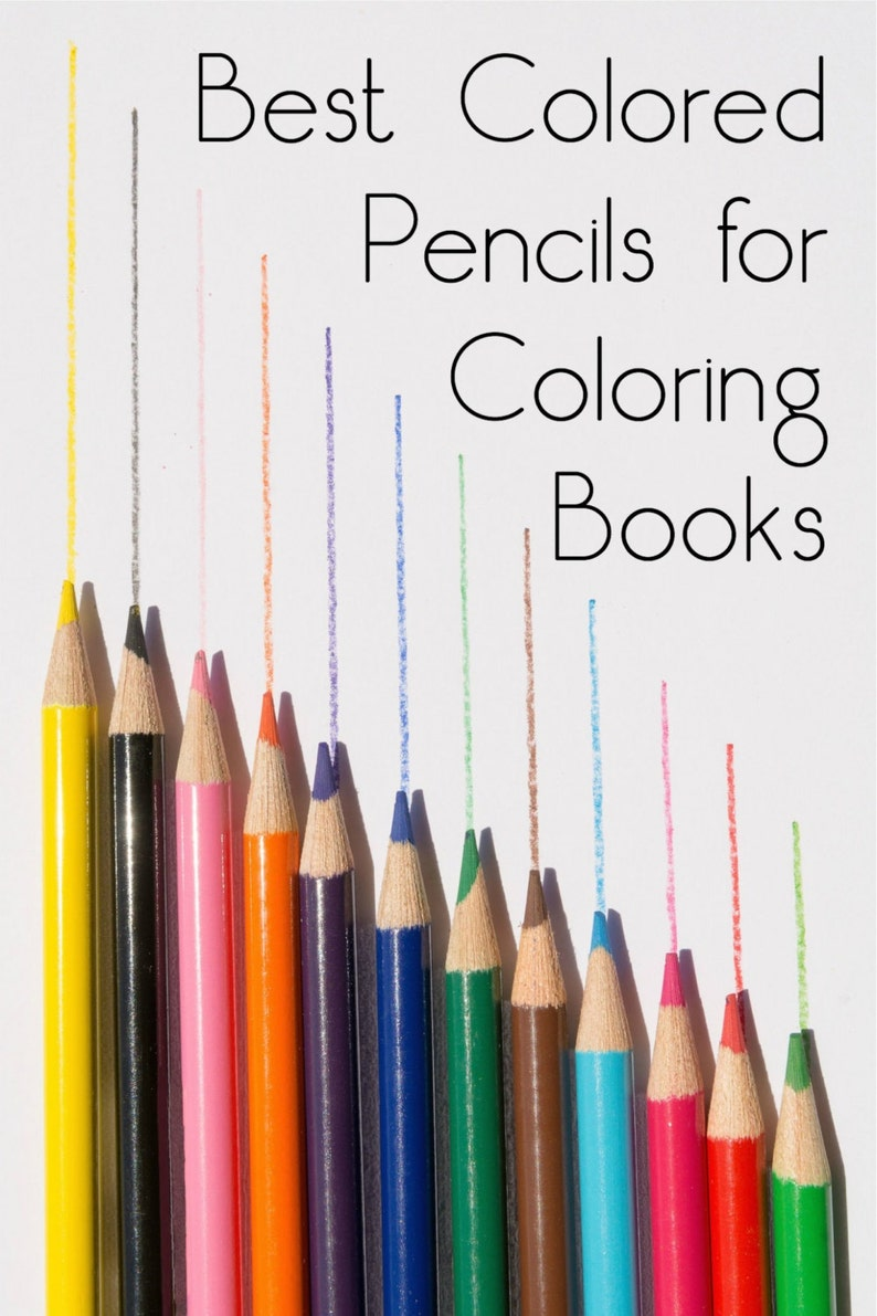 Study Thick Core Colored Pencil Set of 12; Adult Coloring Books Blendable Pencils Drawing; Prang Bible Journaling