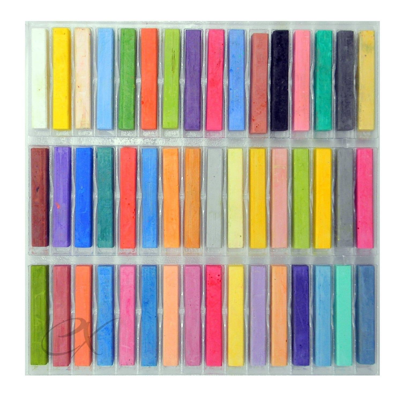 48 dessin doux Pastels de craie; Couleurs brillantes; Pastels de craie craie de de qualité df31a9