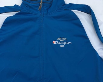Champion Jacket Zip Up Top Logo at the chest Size Small