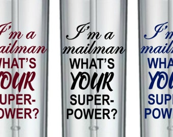 Mailman Mug, Mailman Gifts, Mail Carrier Gifts, Mailman Tumbler, Postman Gifts, Postal Service, Carrier , Gifts For Mailman