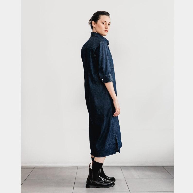 00c91c95a208da Denim Dress Maxi dress Denim Shirtdress Oversized dress