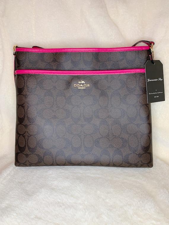 Coach Messenger Bag, Designer Bag, Messenger Bag