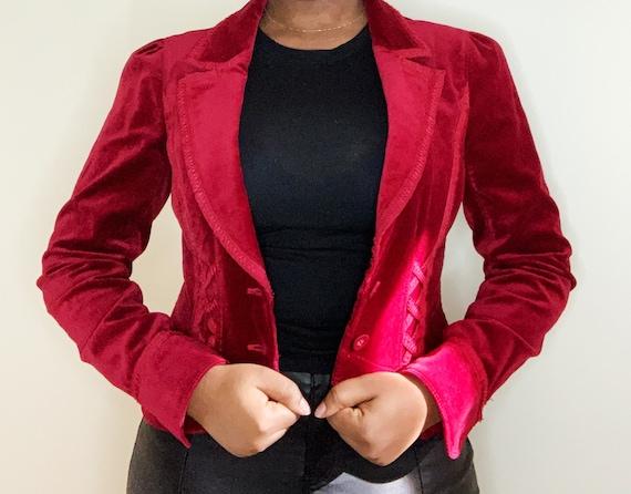 Red Corduroy Jacket (S)