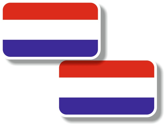Vinyl sticker//decal Small 70mm Italy flag pair