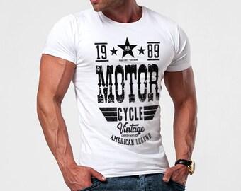 04b21df23ced Retro Style Mens T-shirt