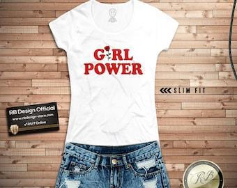 99eef9063242 Girl Power Shirt Girl Power Tee Shirt Womens Graphic Tee Rose Power Girl  Tank Top Trendy Feminism Tee Tumblr Tshirt Pinterest Tank Top WD300