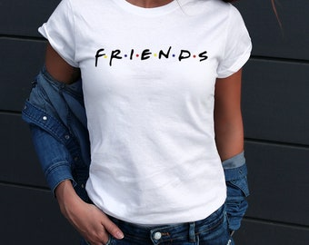 73b33d035 Friends TV show Shirt / Friends Tshirt women / friends show shirt / Friends  Shirt / Friends T-shirt / Gift for Her WD362